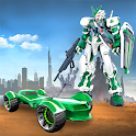 Super Robot Car Transformer game 2019: Bike Games icon