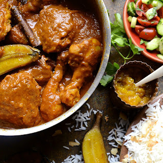 Cape Malay Chicken Curry.