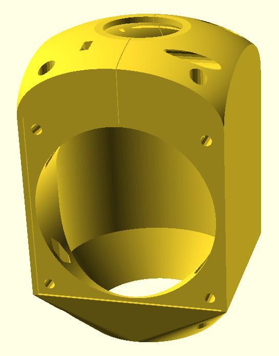 Carcasa para el ventilador del taladrador