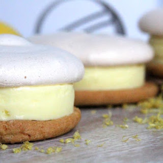 Lemon Sorbet Sandwich.
