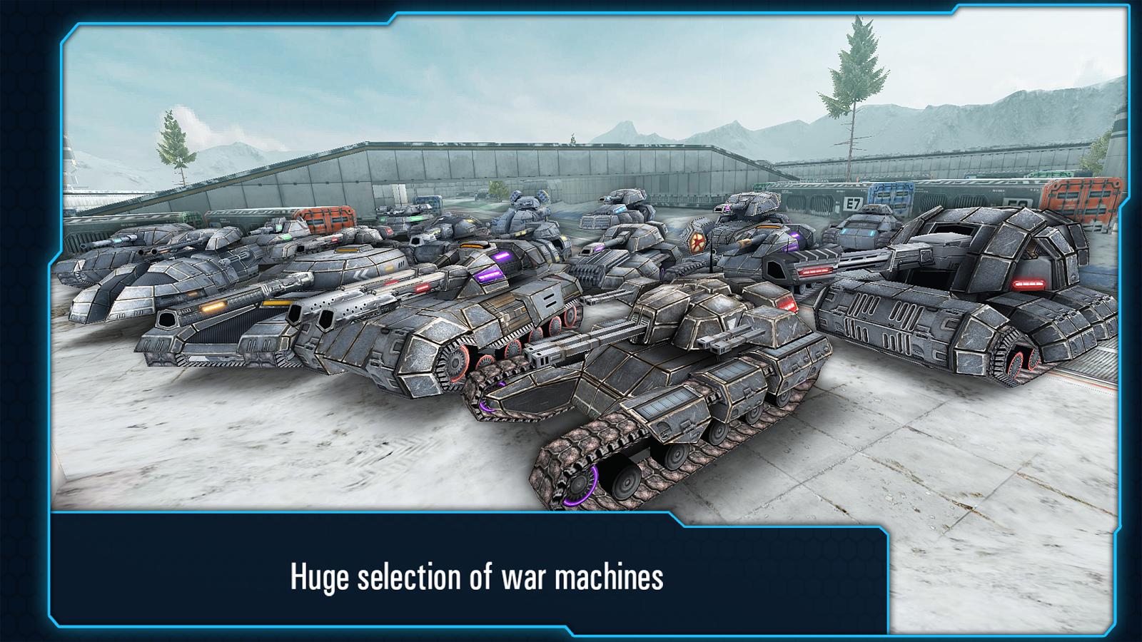 Iron Tanks- screenshot