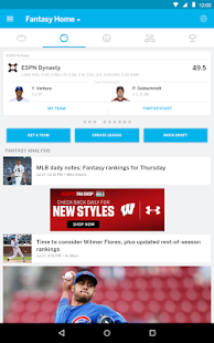 ESPN Fantasy Sports Screenshot 9