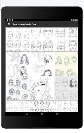 Face Drawing Step by Step 1.3.0 screenshots 10