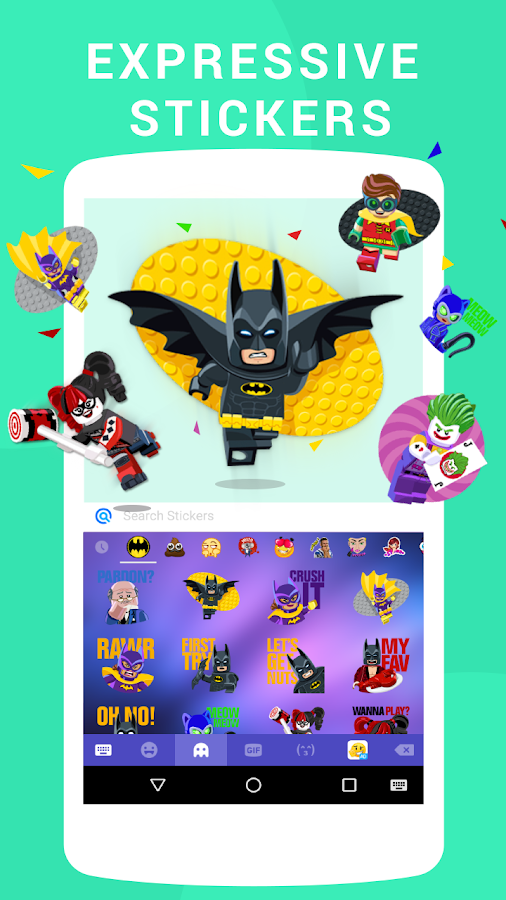 Emoji keyboard - Cute Emoticons, GIF, Stickers- screenshot
