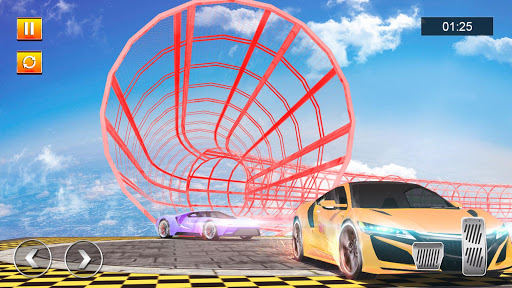 Crazy Car Driving Simulator: Mega Ramp Car Stunts filehippodl screenshot 1