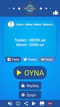 Milyonçu 2017 - Azərbaycanca yeni bilik oyunu