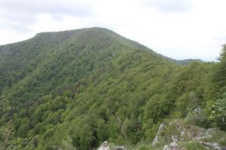 Photo: Rokoš je veru majestátny masív, pohľad zo severu