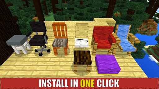 Modern Houses and Furniture for MCPE for PC
