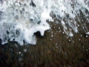 Photo: crashing foam