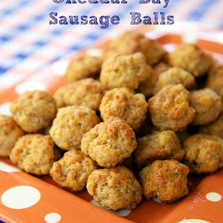 Cheddar Bay Sausage Balls