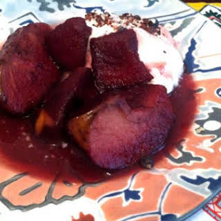 Poached Apples With Juniper Berries & Spices.