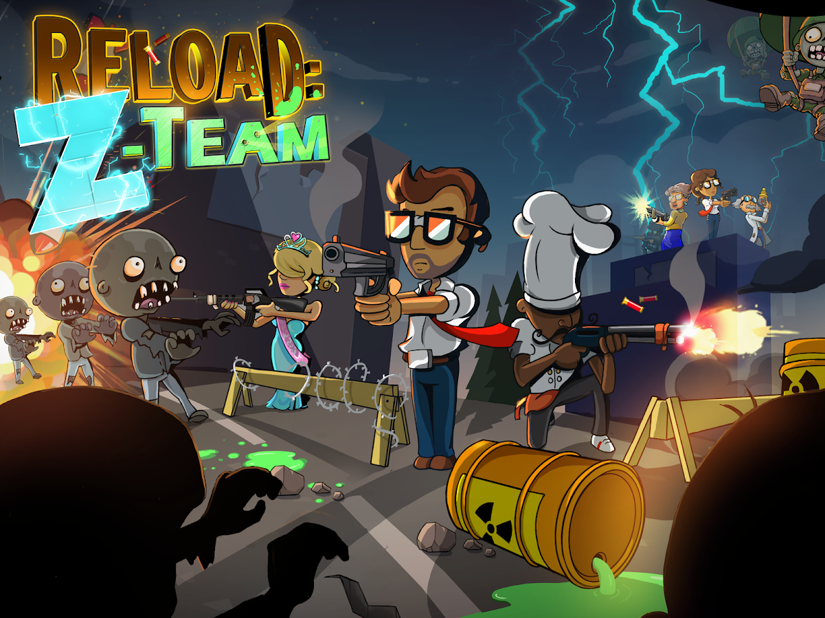 Reload: The Z-Team- screenshot