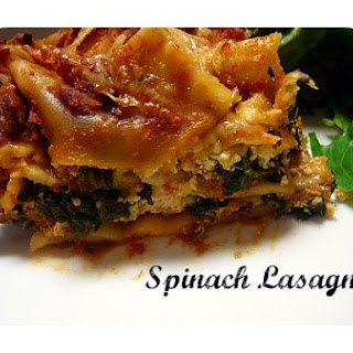 Spinach Lasagna -Slow Cooker Style