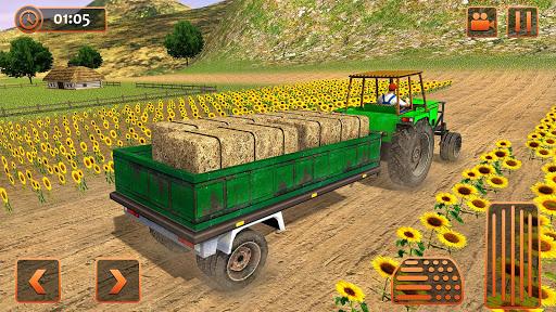 Farm Tractor Cargo Driving Simulator 20 1.5 screenshots 7