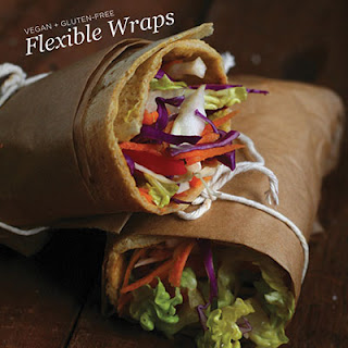 Tortilla-Style Flexible Wraps (Gluten-Free Grain-Free AND Vegan!)
