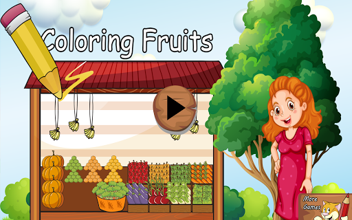 Fruits Coloring