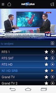 NetTV Plus - náhled