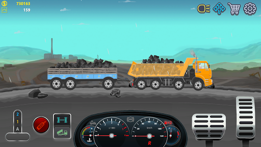 Trucker Real Wheels - Simulator apkmr screenshots 3
