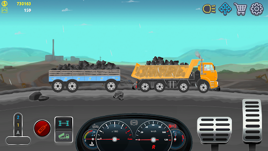 Trucker Real Wheels – Simulator MOD APK [Unlimited Money] 3.2.18 3