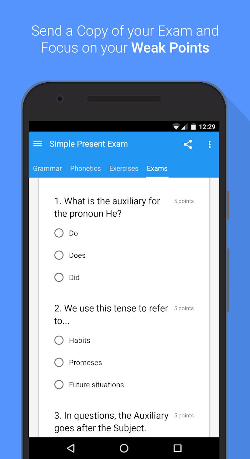 English Grammar & Phonetics Screenshot 7