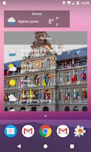 Anvers - Météo - náhled