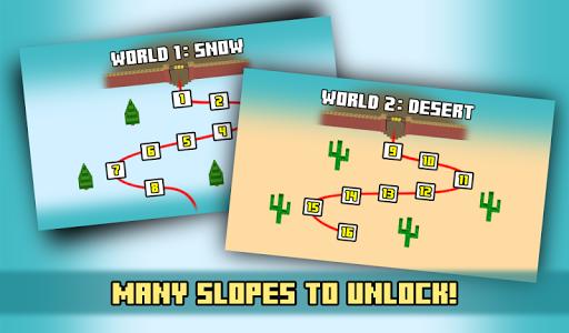 Zoo Skiing - Crossy Slopes! screenshot 11