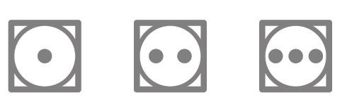 tumble dry heat setting symbol