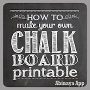 Chalkbord Lettering Design