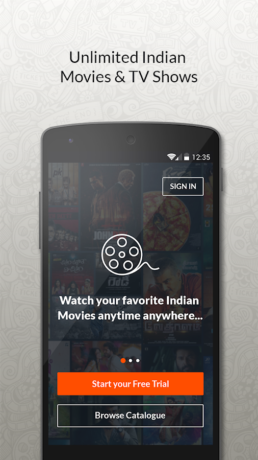 YuppFlix –Indian Movies online- screenshot