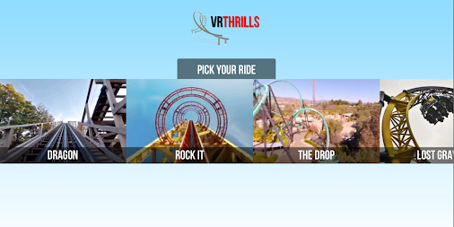 VR Thrills: Roller Coaster 360 (Google Cardboard) APK screenshot thumbnail 11