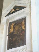 Photo: 234 La Valette, église grecque catholique ND Damas, abside, la célèbre icône