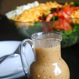 Roasted Garlic Vinaigrette Dressing.