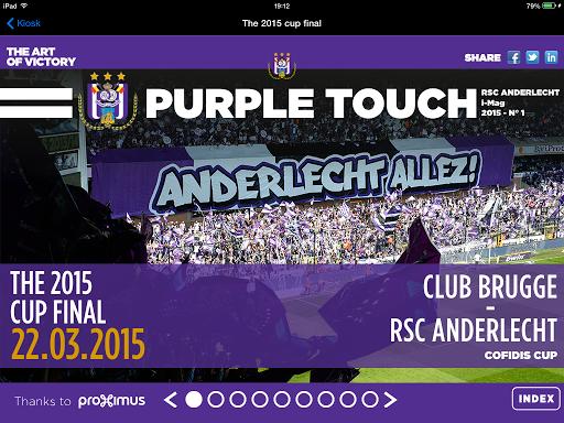 RSC Anderlecht PURPLE TOUCH