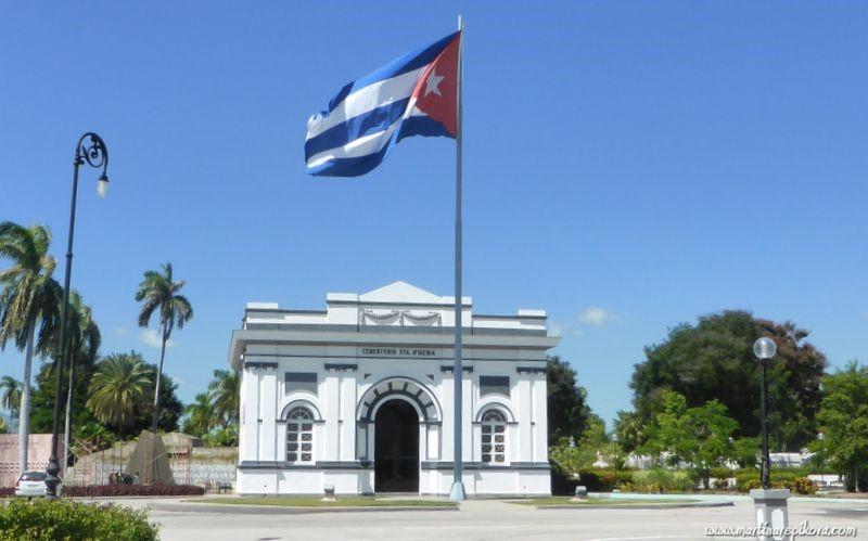 Cemetery in Santiago de Cuba