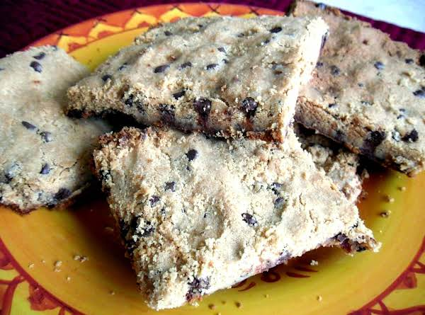 Chocolate Chip Slab Cookie Bars Recipe