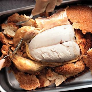 Salt-Roasted Chicken