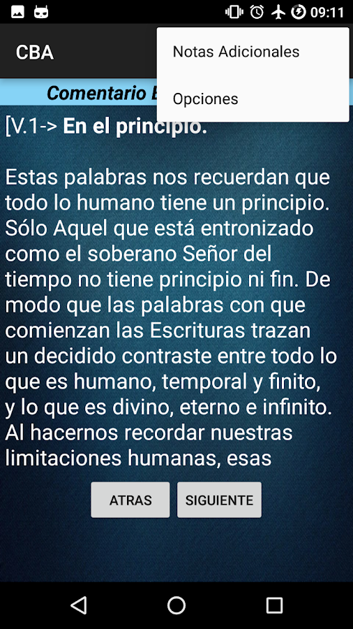 Comentario Biblico Adventista- screenshot