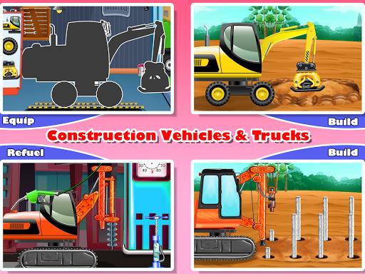 Construction Vehicles & Trucks - Games for Kids 1.8.1 screenshots 10