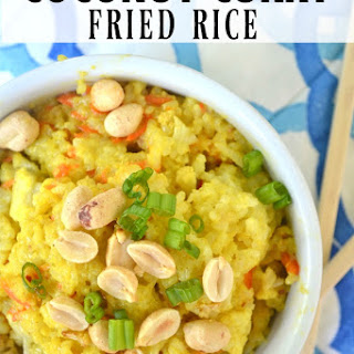 Coconut Curry Fried Rice.