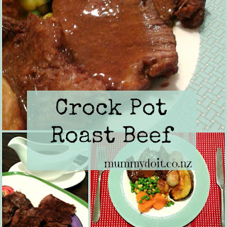 Crock Pot Roast Beef.
