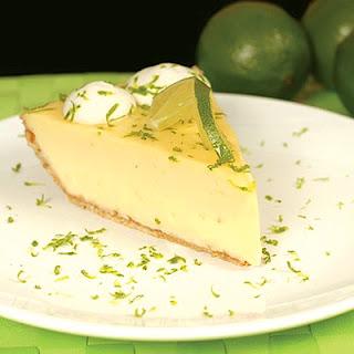 Skinny Key Lime Pie.