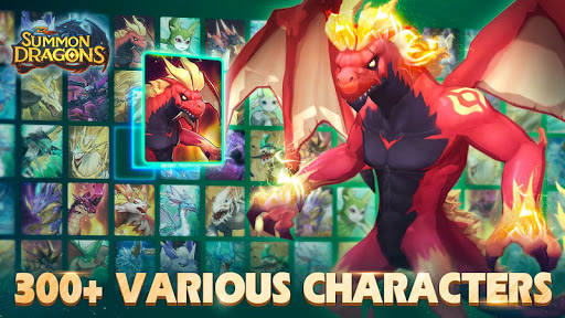 Summon Dragons apktreat screenshots 1