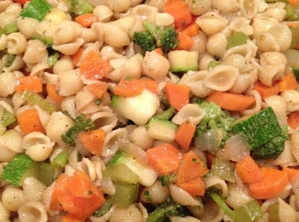Healthy Vegetable Pasta Salad Recipe