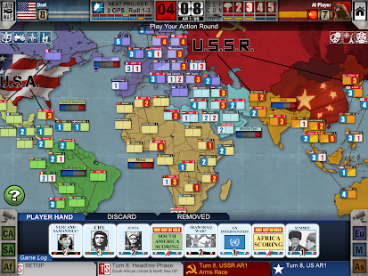 Twilight Struggle Screenshot
