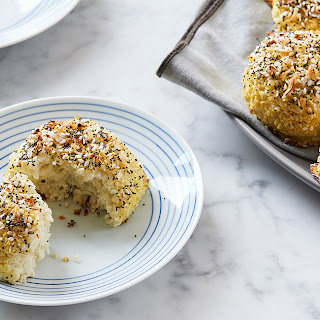 Everything Bagel Spiced Cauliflower Rolls.