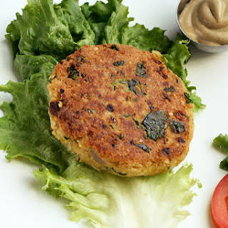 Chickpea and Brown Rice Burgers.