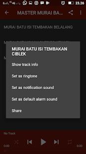 MASTER MURAI BATU AUDIO TRACK - náhled