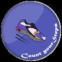 Pedometer Steps Counter icon