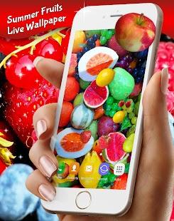 Summer Fruits Live Wallpaper Free - náhled