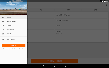 mobile.de – vehicle market Screenshot 1
